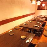 馬肉料理 和牛もつ鍋 姫桜 - 宴会は掘りごたつ席で盛りあっがって下さい!!