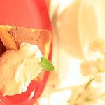 カフェ チャノマ - チーズケーキ