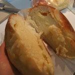 パンプキン - クリームパン中身