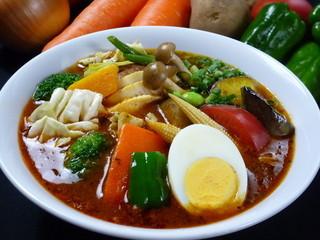 カレー食堂 心 - 17種の野菜のスープカレー
