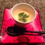 32354411 - 淡路鷄と銀杏の茶碗蒸し