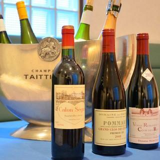 ◆希少価値の高いモノポールワインをご用意しております