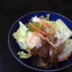西洋食房 芝 - 付け合わせのサラダ