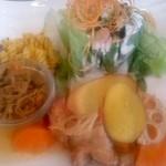 Time - 鶏の野菜あんかけ