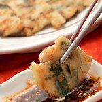 李朝 - 料理写真:イカ・豚肉入りのチヂミ