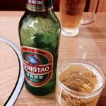 華隆餐館 - 青島ビール