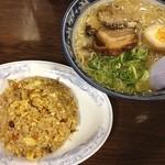 めん壱 - ランチ、焼飯セット❗️