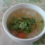 チョムパイ - 2014/11/07・12:20 スープお替り