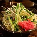 焼肉・もつ鍋専門店 パチキ - もつ鍋投入用 チャンポン麺