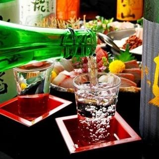 日本各地よりこだわりの地酒を厳選仕入れ
