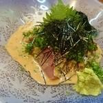 芯 - 料理写真:芯 ごまブリ プリプリの身が凄く美味しかったです!! fromグリーンロール