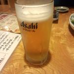 一心太助 福山店 - 生ビール(2014.11.02)