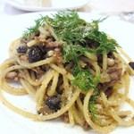 リストランテ アニモフェリーチェ - 真鰯とウイキョウのシチリア風ブカティーニ