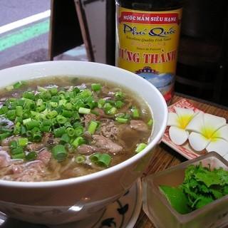 ベトナム料理をベースにしたアジアンカフェ