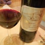 レストランMOMO - 赤ワイン