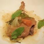 レストランMOMO - 鴨肉の香草焼き