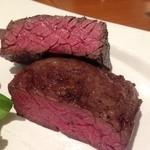 ビストロ ルーブッフ - 『黒毛和牛のステーキ』様(1280円)もう肉肉するでしょ?(笑)