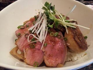 steakdining鷹 - フォアグラ グルメ丼(1000円)
