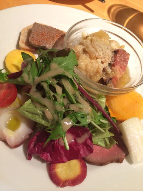 ナトワ - ランチ前菜盛り合わせ