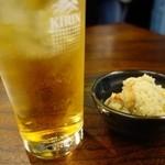 勝美食堂 - 横須賀ホッピーはとても濃い!
