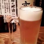 とびた - 生ビール