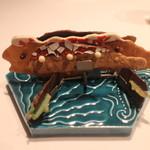 レストラン サンパウ - 茶菓子、凄く凝ったチョコレートクッキ