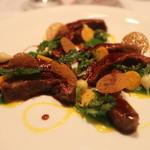 レストラン サンパウ - イベリコ豚の首の先端プルーマ