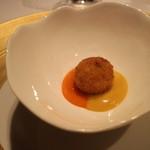 レストラン サンパウ - 真鯛のクロケッタ