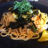 Painappurubatake - 料理写真:ウニ、イカ、コーンのパスタ