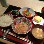 くろぎ - 1,000円の鯛茶漬けランチ♪ 鯛・ご飯食べ放題!