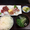竹寿司 - 料理写真:ランチ刺身定食¥860