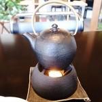 ガーデン・カフェ - 鉄瓶コーヒー「まゆ」