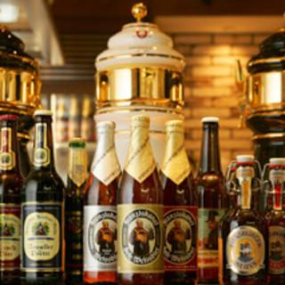 ドイツ直輸入のプレミアムビール