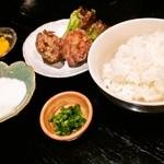 32390622 - つけ麺定食(担々麺)