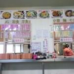 波止場食堂 - セルフサービスのカウンター(14.11.08)