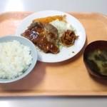 波止場食堂 - トンテキ定食(14.11.08)