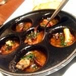 ベルニーニ麻布十番 - エスカルゴ風オーブン焼