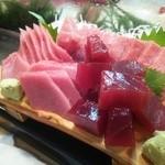 かわなみ鮨 - 赤身漬け、カマトロ、中トロ