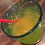 花唄 - ランチのドリンクのマンゴージュース。2014年10月