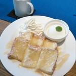 ビーグル カフェ - フレンチトースト プレーン(通常860円→ランパス価格540円)