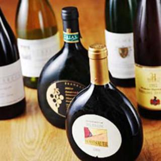 都内最大級のフランケンワインの品揃え