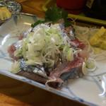 魚がし - 新サンマ刺身 400円