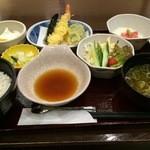 天ぷら壹鐡 米蔵 - 選べる米蔵セット(\860)