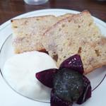 紅茶日和 - キャラメルバナナののパウンドケーキ
