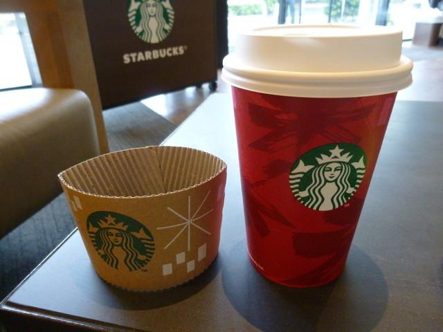 スターバックス・コーヒー 鎌倉御成町店 - ドリップコーヒー トール クリスマスブレンド(\340)