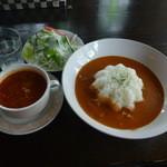 ラ・テラス - 料理写真:バターチキンカレー    1000円