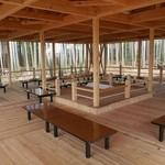 魚松 - 竹林の見えるテラス席