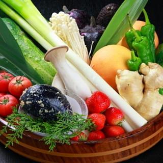 ◆契約農場直送の新鮮野菜