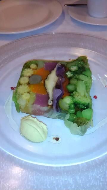 坂の上レストラン - 15種類の野菜のテリーヌ