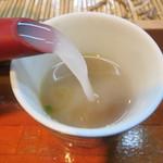 32406435 - newトロトロの蕎麦湯は素晴らしい。